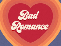 Bad Romance artwork album podcast heart romance bad