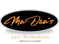 MaDea's Just Homemade Logo logo design by blake andujar cake shop cake company logo cake company logo