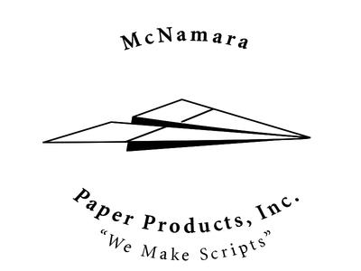 McNamara Paper Products (Hollywood Writer/Producer) Logo