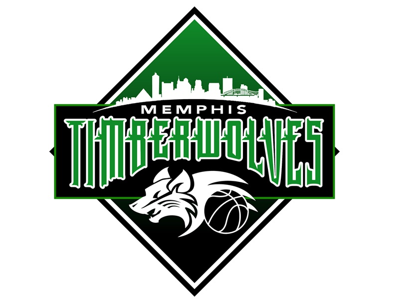 Memphis Timberwolves Basketball Team Logo By Blake Andujar On Dribbble