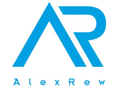 AlexRew Logo Design