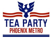 Tea Party Phoenix Metro Logo