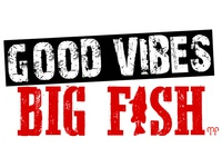 Good Vibes Big Fish Marketing Logo