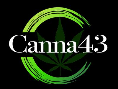 Canna43 Cannaibis Dispensary Logo Design