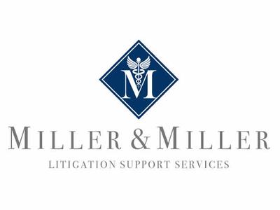 Miller & Miller Litigation Support Services Logo Design
