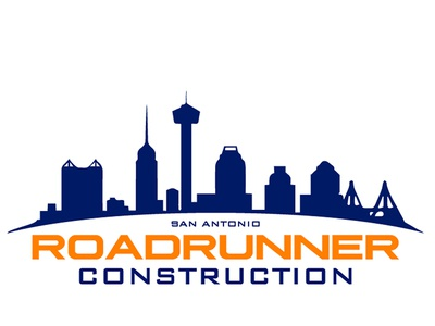 S.A. Roadrunner Construction Logo Design