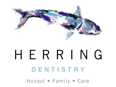HERRING DENTISTRY Company Name & Logo Design