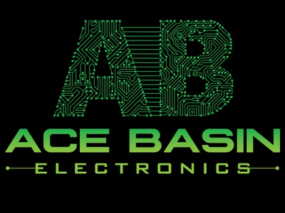 Ace Basin Electronics Logo Design