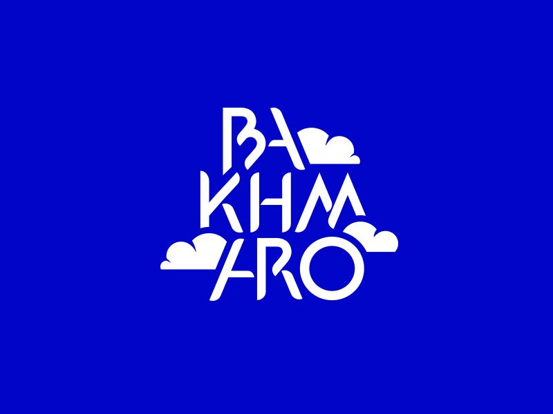 Bakhmaro resort alpine mountain rock clouds mark logo