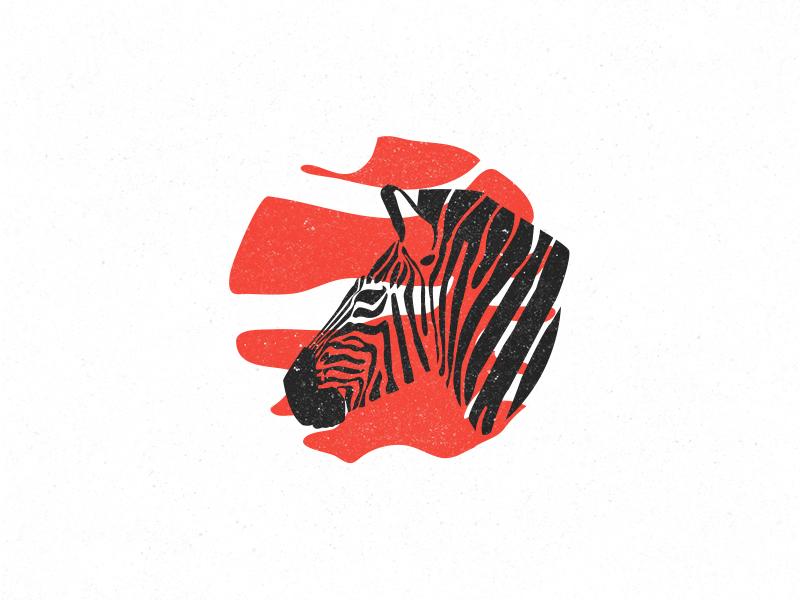 Zebra illustrator zebra africa design line adobe logodesign logo