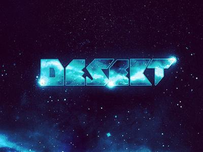 DJ Desekt Logo Design logo