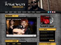 Raekwon Website Design