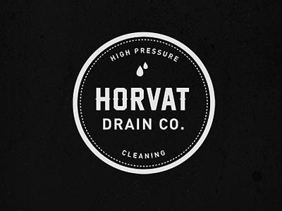 Horvat Drain Co. Logo logo