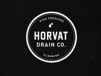 Horvat Drain Co. Logo