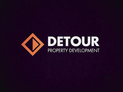 Detour Logo design logo