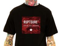 RUPTSURE® 💀 Red Box Camo T-shirt Design