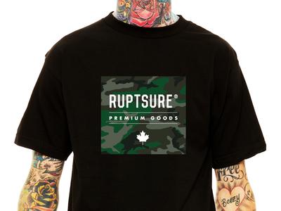 RUPTSURE® 💀 Green Box Camo T-shirt Design