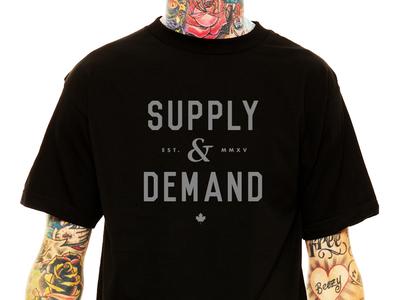 RUPTSURE® 💀 Supply & Demand T-shirt Design