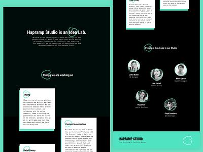 Landing Page Exploration #2 inspiration exploration design landing experiment minimal website colours typography ux ui