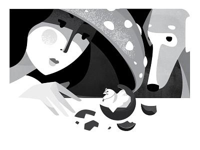 Inktober_2018 CHICKEN illustrator illustration vector art vector black  white inktober inktober2018