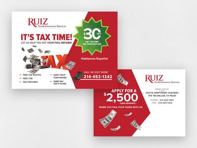 Ruiz PostCard Design