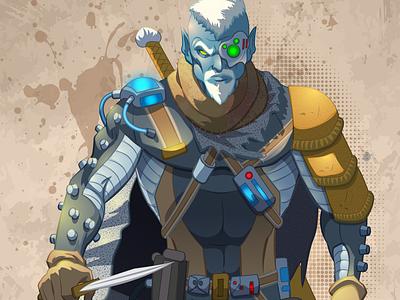 Togarth the Redeemer alien character art digitalart sciencefiction scifi fantasy art fantasy