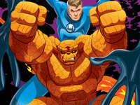 The Thing and Mr. Fantastic