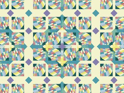 Pastel pattern illustrator symmetry marshmallow mosaic inspiration geometry polychrome pastel pattern