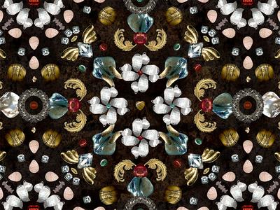 Childhood blings pattern treasures childhood beads feathers geometry pattern flowers inspiration blings