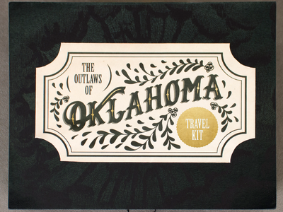 Outlaws of Oklahoma Packaging Design