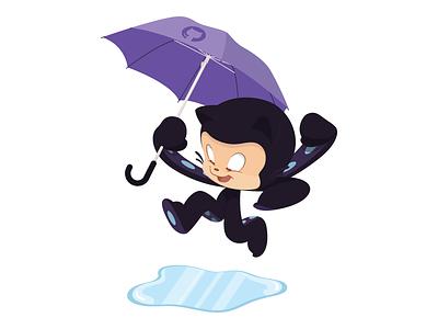 Field Day Octocat art design character character creation illustration github