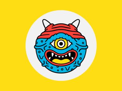 Kaiju Marla eyes face illustration character monster kaiju