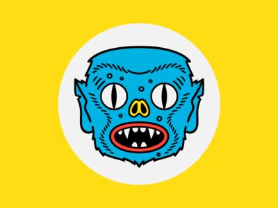 Kaiju Kurt kaiju monster character illustration face eyes weird creature