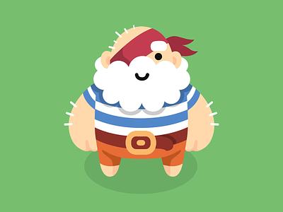 Henry Redbrick pirat henry character hero cute