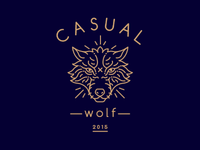 Casual Wolf, logo