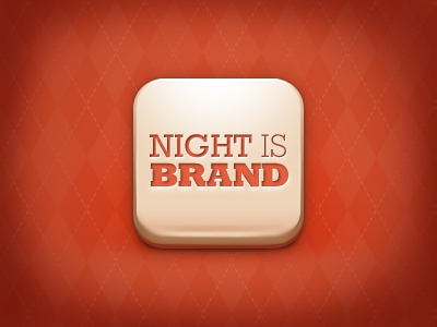 Night is Brand, app icon app icon application app icon iphone