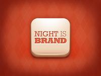 Night is Brand, app icon