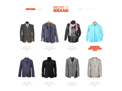 Night is Brand, shop shop brand night site web clothes