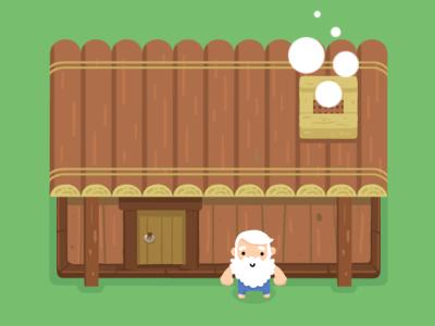Sweet home, game location house building oldman game location zelda-like