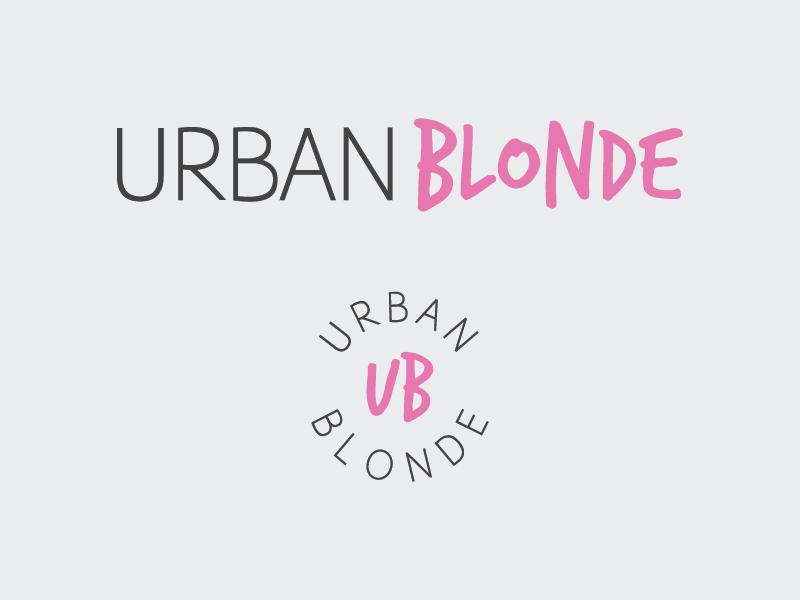 Urban Blonde blogger logo