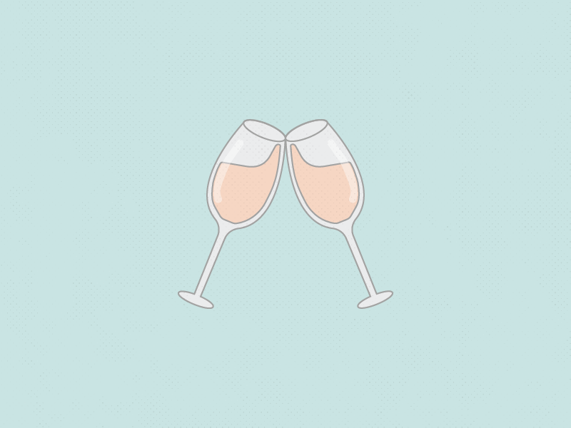 Happy Friday! friday rosé cheers wine glass wine