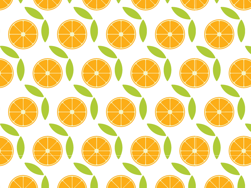 Citrus  graphic illustrator leaf orange background citrus