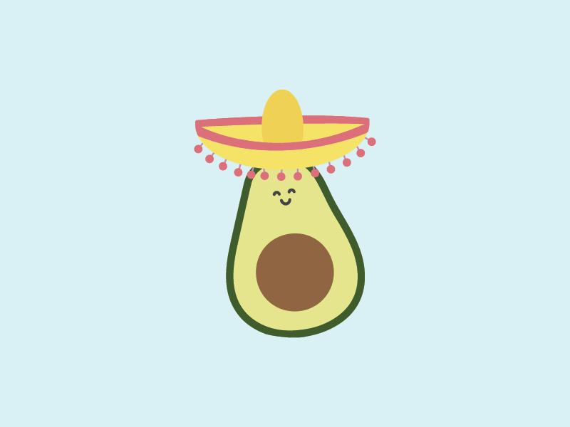 mr avocado is back and he says happy cinco de mayo avocado sombrero mexican mayo de cinco