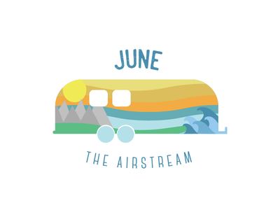 June The Airstream