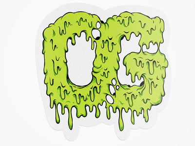 Ottyag OG Sticker sticker thrash illustration