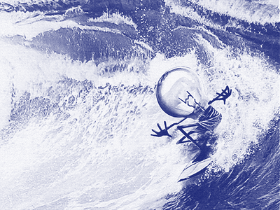 Surfer T-shirt ogni surf t-shirt