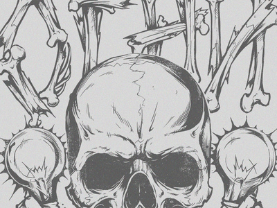 Skull T-shirt ogni skull t-shirt