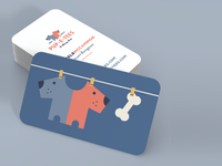 Pup-E-Tees Business Card