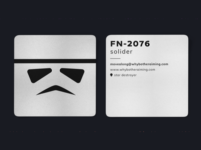 Stormtrooper Business Card
