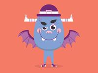 Funny Monster Illustration